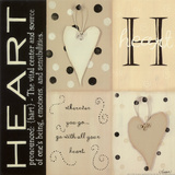 Heart Posters by Kim Klassen