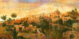 North African VIsta Kunstdruck von P. Patrick