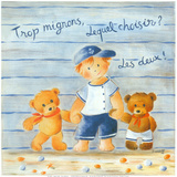 Trop Mignons, Lequel Choisir Poster by Jo&#235;lle Wolff