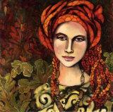 Mon Foulard Prefere Art by Delphine Cossais