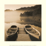 Tranquil Mist II Posters by Peter Adams