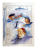 De l'Ile de Brehat au Cap Frehel Prints by Gildas Flahault