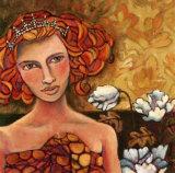 La Princesse du Jardin Prints by Delphine Cossais