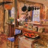Kitchen I Art by Dennis Carney