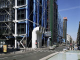 The Pompidou Centre, Beaubourg, Paris, France Photographic Print by Philip Craven