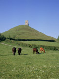 Glastonbury Tor, Somerset, England, United Kingdom Photographic Print by Philip Craven