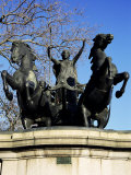 Statue of Boadicea (Boudicca), Westminster, London, England, United Kingdom Photographic Print by Ethel Davies