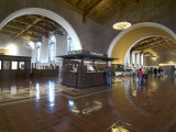 Union Station, Railroad Terminus, Downtown, Los Angeles, California, USA Photographic Print by Ethel Davies