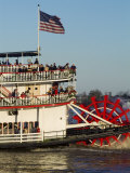 Sternwheeler on the Mississippi River, New Orleans, Louisiana, USA Photographic Print by Ethel Davies
