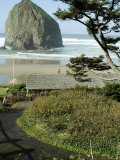 Cannon Beach, Oregon, USA Photographic Print by Ethel Davies