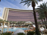 Pool Area and Hotel View, Red Rock Casino, Las Vegas, Nevada, USA Photographic Print by Ethel Davies