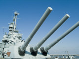 U.S.S. Alabama Battleship Museum, Mobile, Alabama, USA Photographic Print by Ethel Davies