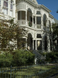 Historic District, Galveston, Texas, USA Photographic Print by Ethel Davies