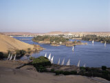 The River Nile, Including Kitcheners and Elephantine Island, Aswan, Egypt, North Africa, Africa Photographic Print by Philip Craven
