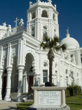 Sacred Heart Catholic Church, Historic District, Galveston, Texas, USA Photographic Print by Ethel Davies