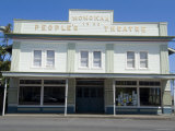 People's Theatre, Honokaa, Island of Hawaii (Big Island), Hawaii, USA Photographic Print by Ethel Davies