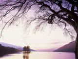 Loch Tay in the Evening, Tayside, Scotland, United Kingdom Photographic Print by Kathy Collins