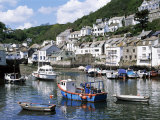 The Harbour, Polperro, Cornwall, England, United Kingdom Photographic Print by Rob Cousins