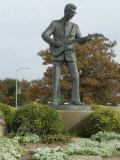 Buddy Holly, Walk of Fame, Lubbock, Texas, USA Reproduction photographique par Ethel Davies