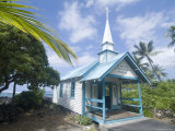 St. Peter's Catholic Church, Near Kailua-Kona, Island of Hawaii (Big Island), Hawaii, USA Photographic Print by Ethel Davies