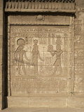 Relief on the Birth-House, Temple of Hathor, Dendera, Egypt, North Africa, Africa Photographic Print by Philip Craven
