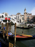 Grand Canal and the Rialto Bridge, Unesco World Heritage Site, Venice, Veneto, Italy Photographic Print by Philip Craven