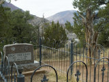 Doc Holliday's Grave, Glenwood Springs, Colorado, USA Photographic Print by Ethel Davies