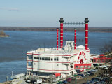 Casino on the Mississippi River, Vicksburg, Mississippi, USA Photographic Print by Ethel Davies