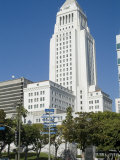 City Hall, Downtown, Los Angeles, California, USA Photographic Print by Ethel Davies