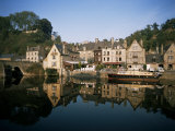 Port of Dinan, La Rance, Bretagne (Brittany), France Photographic Print by Philip Craven