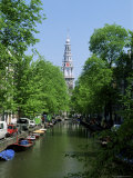 Zuiderkerk from Staal Straat, Amsterdam, Holland Photographic Print by Kathy Collins