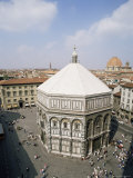 Baptistery, Duomo, Florence, Unesco World Heritage Site, Tuscany, Italy Photographic Print by Philip Craven