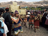 Inti Rayma Festival, Cuzco, Peru, South America Photographic Print by Rob Cousins