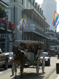 Bourbon Street, French Quarter, New Orleans, Louisiana, USA Reproduction photographique par Ethel Davies