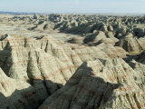 Badlands National Park, South Dakota, USA Photographic Print by Ethel Davies