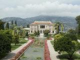 Villa Ephrussi, Historical Rothschild Villa, St. Jean Cap Ferrat, Alpes-Maritimes, Provence, France Photographic Print by Ethel Davies