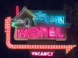 Log Cabin Motel, Montrose, Colorado, USA Photographic Print by Ethel Davies