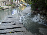 Riverwalk, San Antonio, Texas, USA Reproduction photographique par Ethel Davies