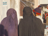 Women Wearing Burkas, Afghanistan Photographic Print by Robert Cundy