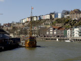Harbour View to Hotwells with Replica Sailing Ship the Matthew, Bristol, England Photographic Print by Rob Cousins