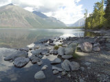 Mcdonald Lake, Glacier National Park, Montana, USA Photographic Print by Ethel Davies