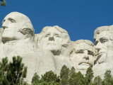 Mount Rushmore, South Dakota, USA Lmina fotogrfica por Ethel Davies