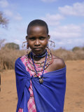 Masai Woman, Kenya, East Africa, Africa Photographic Print by Philip Craven