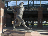 Mickey Mantle, Bricktown Ballpark, Oklahoma City, Oklahoma, USA Photographic Print by Ethel Davies