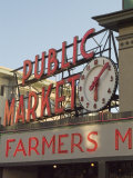 Pikes Market, Seattle, Washington State, USA Photographic Print by Ethel Davies