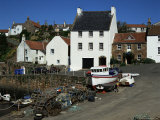 Crail Harbour, Neuk of Fife, Scotland, United Kingdom Photographic Print by Kathy Collins