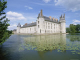 Chateau and Lake, Le Plessis Bourre, Pays De La Loire, Loire Valley, France Photographic Print by Philip Craven