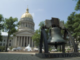 State Capitol, Charleston, West Virginia, USA Photographic Print by Ethel Davies