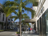 Rodeo Drive, Beverly Hills, California, USA Photographic Print by Ethel Davies