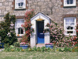 Cottage at Charlestown, Cornwall, England, United Kingdom Photographic Print by Philip Craven